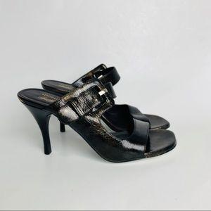 Donald J Pliner II Nelia brown with bronze heel